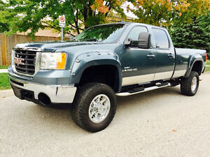 2007 GMC SIERRA 3500 CREW CAB 6.6 DURAMAX DIESEL,LEATHER,ROOF!!!