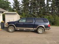 2001 Ford F-150, 4#4, quad cab