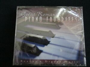 """Great Romantic Piano Favourites"" - 4 CD set *NEW*"