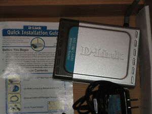 Used D-Link DI-524 Wireless 54 Mbps High Speed Router (802.11g) Edmonton Edmonton Area image 3