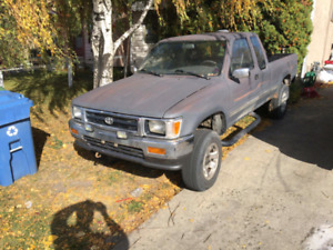 1993 Toyota 4x4 pick up for sale ot trade