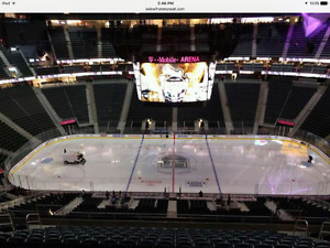 Las Vegas Golden Knights - Single Game Tickets - Centre Ice