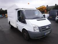 FORD TRANSIT 350 MWB EX BT BOX VAN White Manual Diesel, 2007