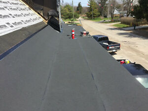 Flat Roofing - Repairs - Leaks? We will stop them! London Ontario image 2