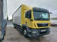 MAN/ ERF TG-M250-18 long curtain tailift 2016-66 plate only 220k klms NEW STOCK