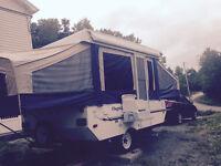 2008 Flagstaff tent trailer