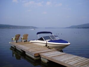 Gorgeous flat 3/4 acre waterfront on Horselake, 100 Mile House
