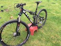 For sale: cube 120 Ams full suspension mountain bike