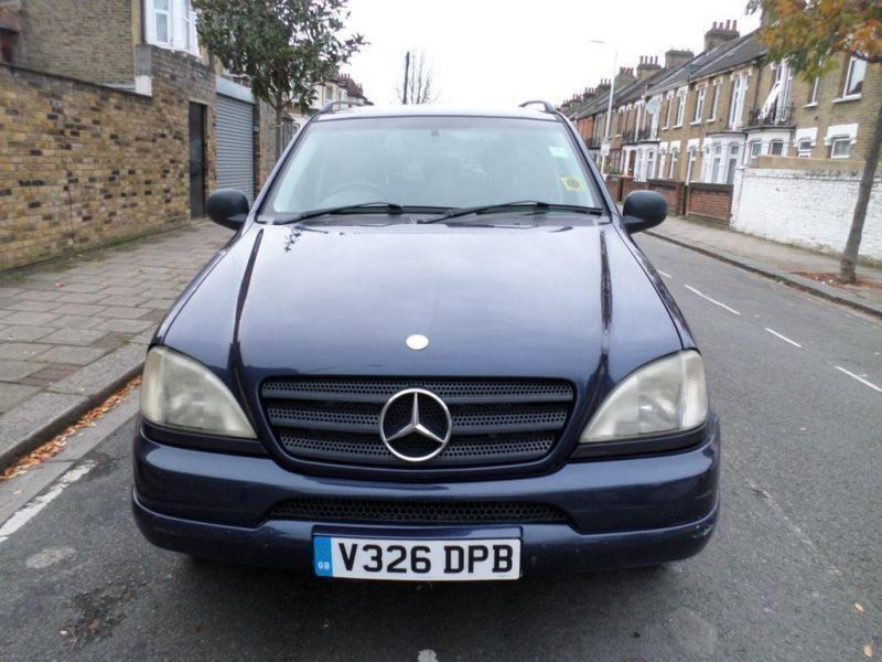 1999 mercedes benz m class ml320 5dr auto in manor park for 1999 mercedes benz m class ml320