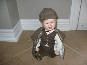 """LITTLE SHERLOCK"" CHINA DOLL"