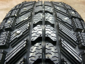 215/55/17 Studded Firestone Winterforce Tires and Rims