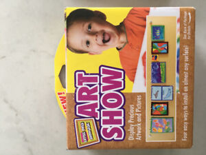 NEW Art display system for kids