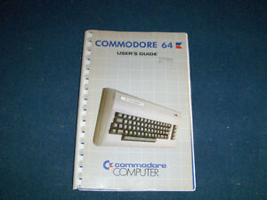 COMMODORE 64 USER'S GUIDE-5/1983-COMPUTERS-VINTAGE!