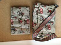 Large Cath Kidston bag and changing mat