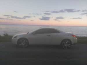 """2008 Pontiac G6 Convertible 5000 or 6000 with new  20"""" chrome"""