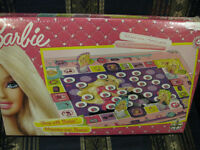 NEW BARBIE SHOP WITH BARBIE BOARD GAME