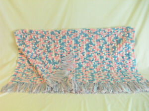 Fringed Baby Afghan for Sale - $20