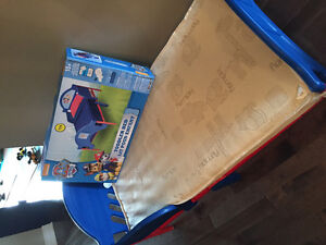 Toddler paw patrol bed with mattress