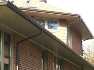 Eavestroughs-Gouttières-Soffites-Facia-Siding-Ventilation + West Island Greater Montréal image 5