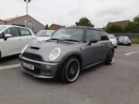 2002 52 MINI COOPER S WITH CHILLI PACK AND FACTORY EXTRAS.GREAT LOOKING MINI.