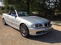 BMW 318 SE CONVERTIBLE AUTOMATIC.SAT NAV ONLY DONE 47K..LEATHER.. SAT NAV..DRIVES PERFECT