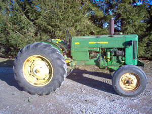 1956 john deere 420 two cylinder  tractor