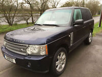 Land Rover Range Rover 3.6TD V8 auto 2007MY Vogue SE LHD