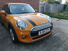 Mini cooper collect in late Oct