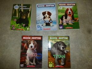 Kids French books - animal theme - $2 each - grade school