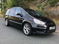 FORD S-MAX 2.0 TDCi ( 140ps ) TITANIUM 7 SEATER DIESEL IN BLACK