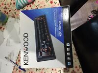Kenwood car stereo new ( no Sony or pioneer) aux usb MP3