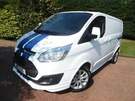 2013 Ford Transit Custom 290 SPORT L1H1 2.2TDCi 155PS PANEL VAN WITH AIR/CON