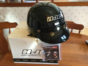 Brand new Size small open faced motor cycle helmet
