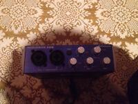 Audiobox usb presound