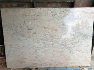 Granite stone slab 69.5 x49 once's 7/8inch thick beautiful