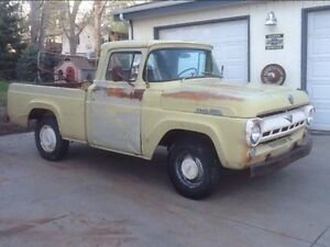 Need 57-58 Ford f100 parts