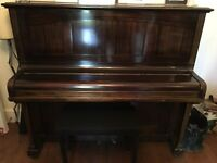 Hilton & Hilton upright piano