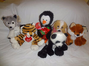 New Assorted Stuffed Animals with Tags