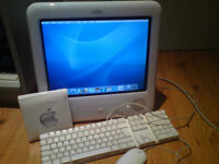 Apple eMac G4/1.42 Upgraded wifi and ram