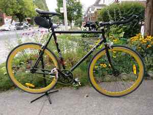 58cm Frame single speed track bike