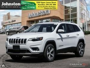 2019 Jeep Cherokee Limited 4x4  - Navigation -  Uconnect - $127.