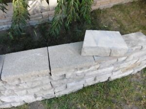 Dalles pour Muret/Retaining wall blocks