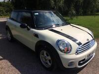 2011 11 Mini Cooper Diesel 1.6TD White