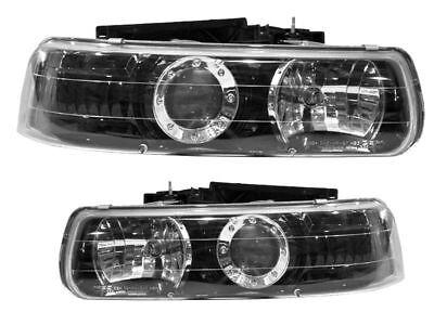 WINNEBAGO VISTA 2007 2008 2009 PROJECTOR BLACK HEADLIGHTS HEAD LAMPS RV