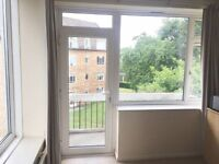 Double room in 2 bed flat, free parking and great transport links
