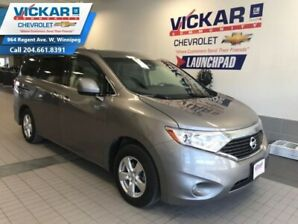 2012 Nissan Quest SV  V6, 7 PASSENGER, POWER SLIDING DOORS  - $162 B/W