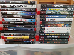 PS3 + 27 games