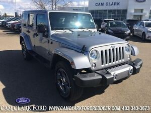 2016 Jeep Wrangler Unlimited Sahara   Anti-Spin Axle Freedom top