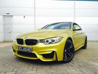 2014 64 reg BMW M4 3.0 DCT F1/ AUTO + YELLOW + HUGE SPEC + CARBON + HEAD UP DISP