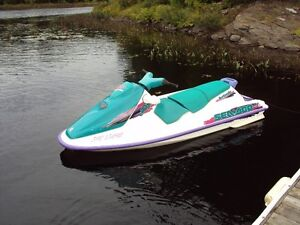 Seadoo GTS and Trailer